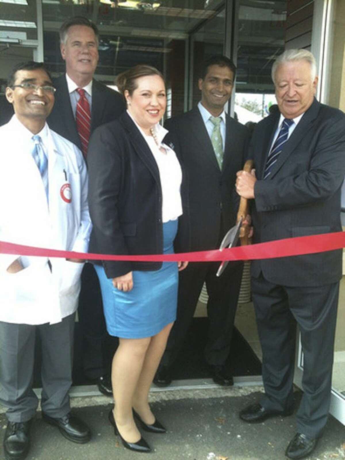 Hour photo Ribbon-cutting ceremony for Hancock Pharmacy on Connecticut Avenue.