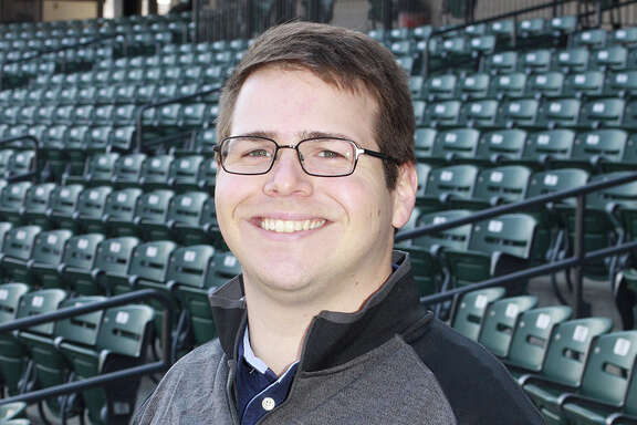 Class AA Corpus Christi broadcaster Michael Coffin is filling in on the Astros' radio broadcasts during the team's series in St. Louis.