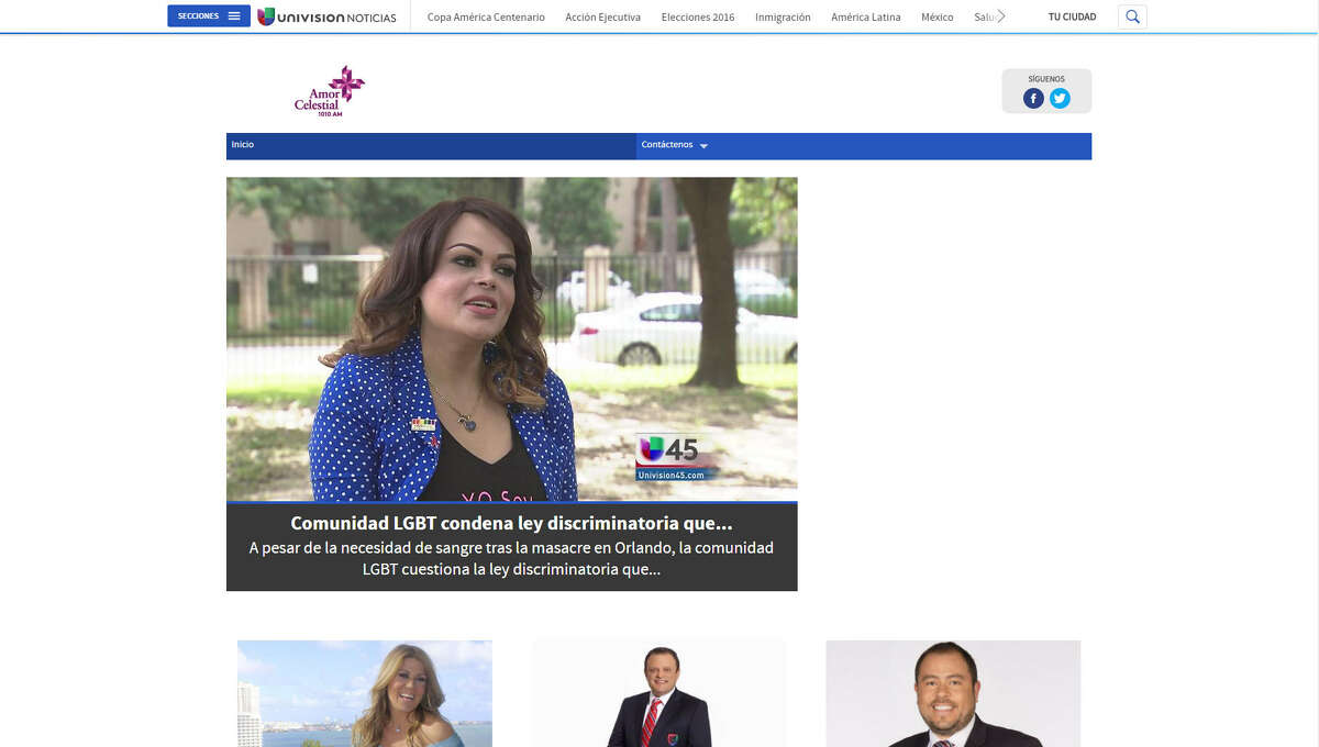 KLAT-AM (101.0) Rating: 0.1 Format: Spanish contemporary hit radio Owner: Univision Radio