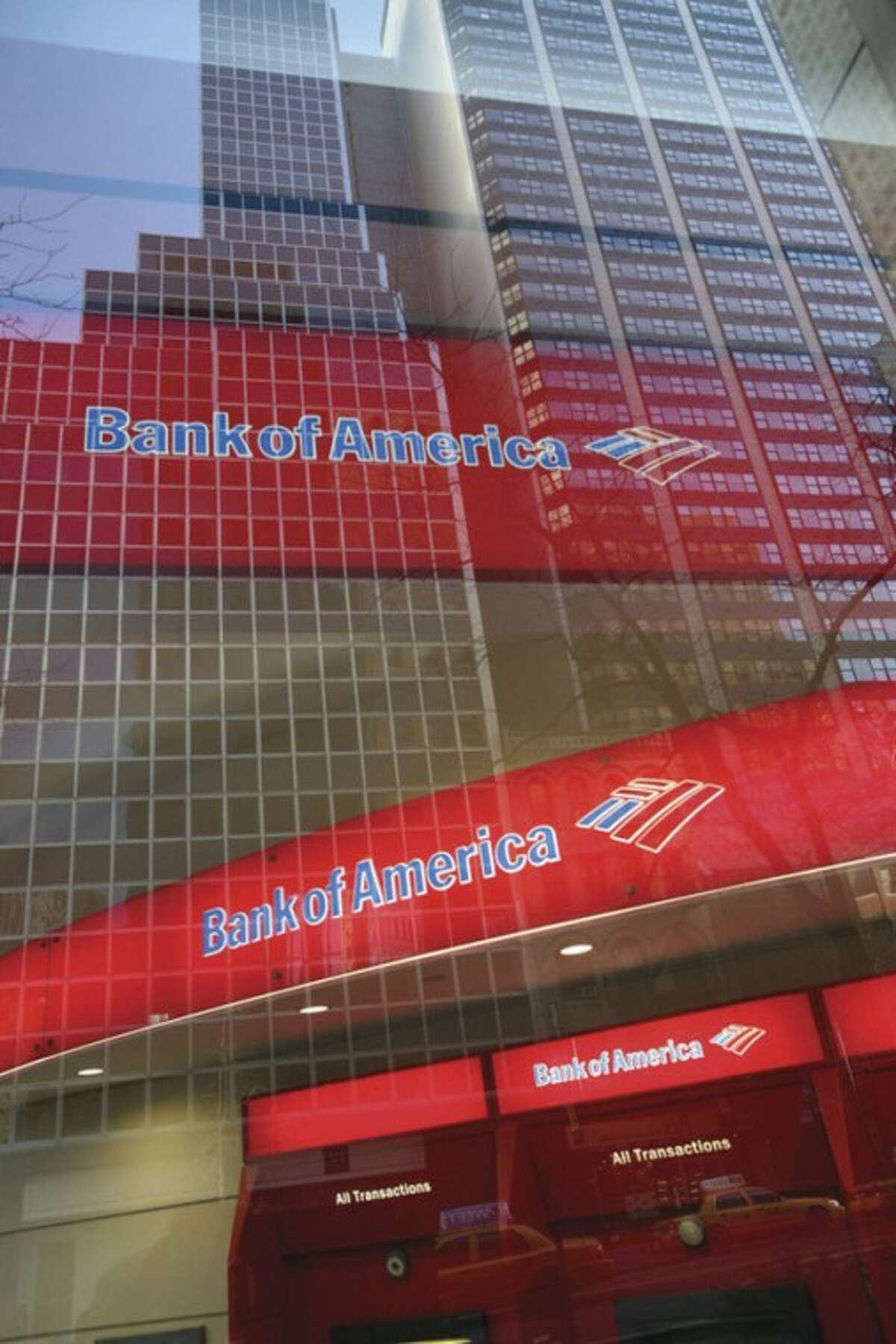 AP file photo / Mark Lennihan In this Jan. 25, 2009, file photo, a Bank of America branch office is shown in New York.