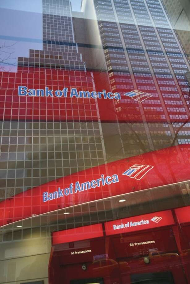 AP file photo / Mark LennihanIn this Jan. 25, 2009, file photo, a Bank of America branch office is shown in New York.