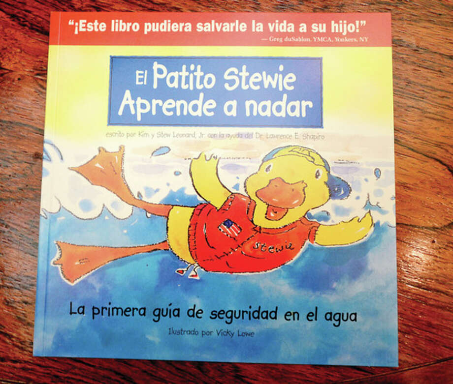 Stew Leonard III Children's Charities offers a new Stewie the Duck app and Spanish-language book. / (C)2013, The Hour Newspapers, all rights reserved
