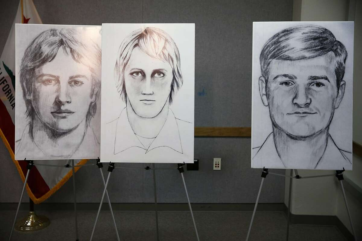 Sketches of the East Area Rapist, also known as the Golden State Killer, sit on display during a news conference at the Sacramento County Sheriff's Department on June 15, 2016. Although there have been a number of sketches made during the Golden State Killer's reign of terror from1976 -1986, the FBI focused primarily on these three sketches when they reopened the case in 2016. The serial killer gained several monikers based on the regions in which he committed crimes.