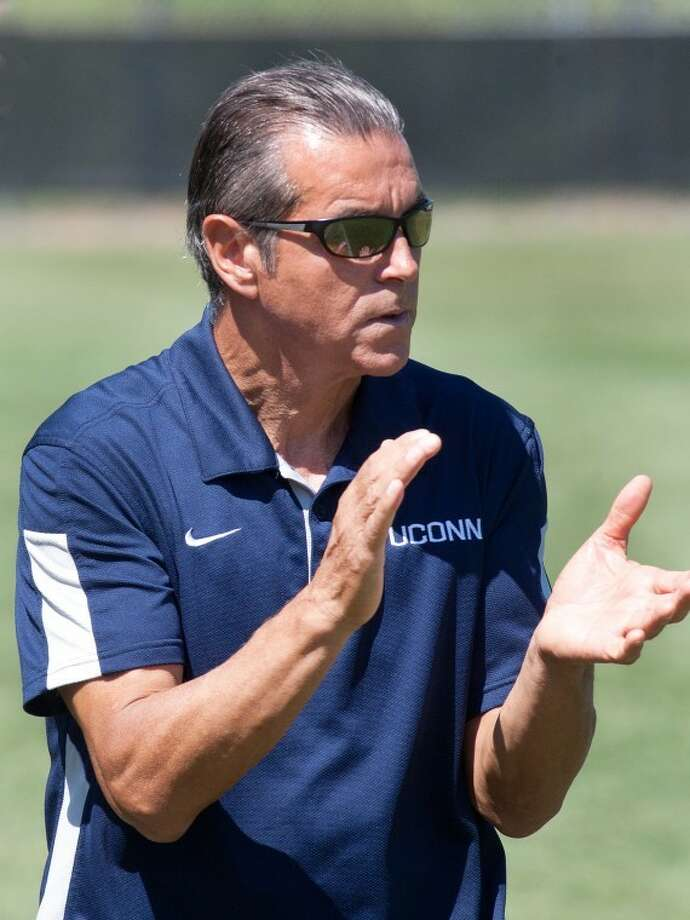 University of Connecticut women's soccer head coach Len Tsantiris recorded his 500th career victory with a 3-1 win over Rutgers on Thursday evening.
