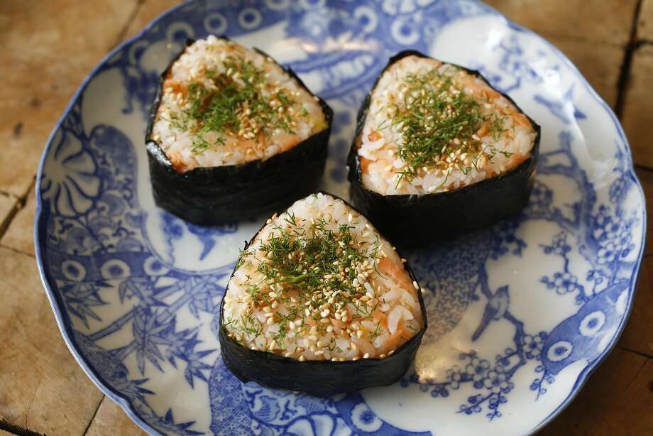 Salmon & Dill Onigiri at Koda Farms. Photo: Craig Lee, Special To The Chronicle