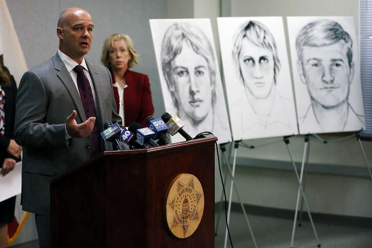 Sgt. Paul Belli of the Sacramento County Sheriff's Department speaks to the media during a news conference at the Sacramento County Sheriff's Department in Sacramento, California, on Wednesday, June 15, 2016. Law enforcement agencies announced a national campaign to identify and apprehend the East Area Rapist, also known as the Golden State Killer, who committed his first crime 40 years ago.