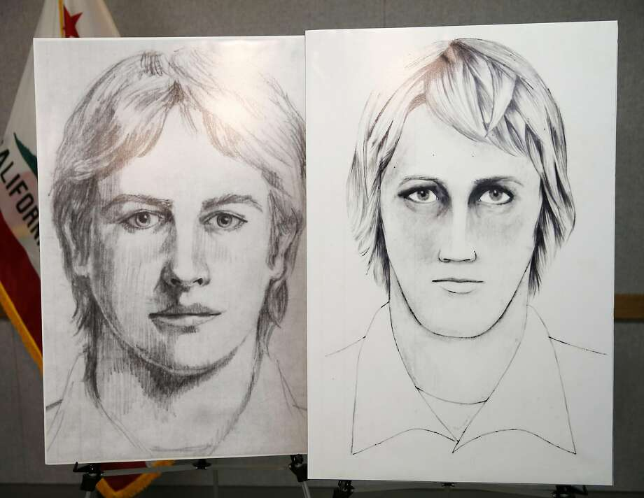 Sketches of the East Area Rapist, also known as the Golden State Killer, sit on display during a news conference at the Sacramento County Sheriff's Department in Sacramento, California, on Wednesday, June 15, 2016. Photo: Connor Radnovich / The Chronicle