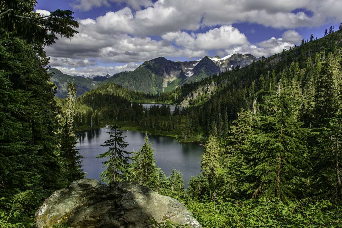 View of Watson Lakes in the Noisy-Diobsud Wilderness. Photo by Thomas Bancroft.