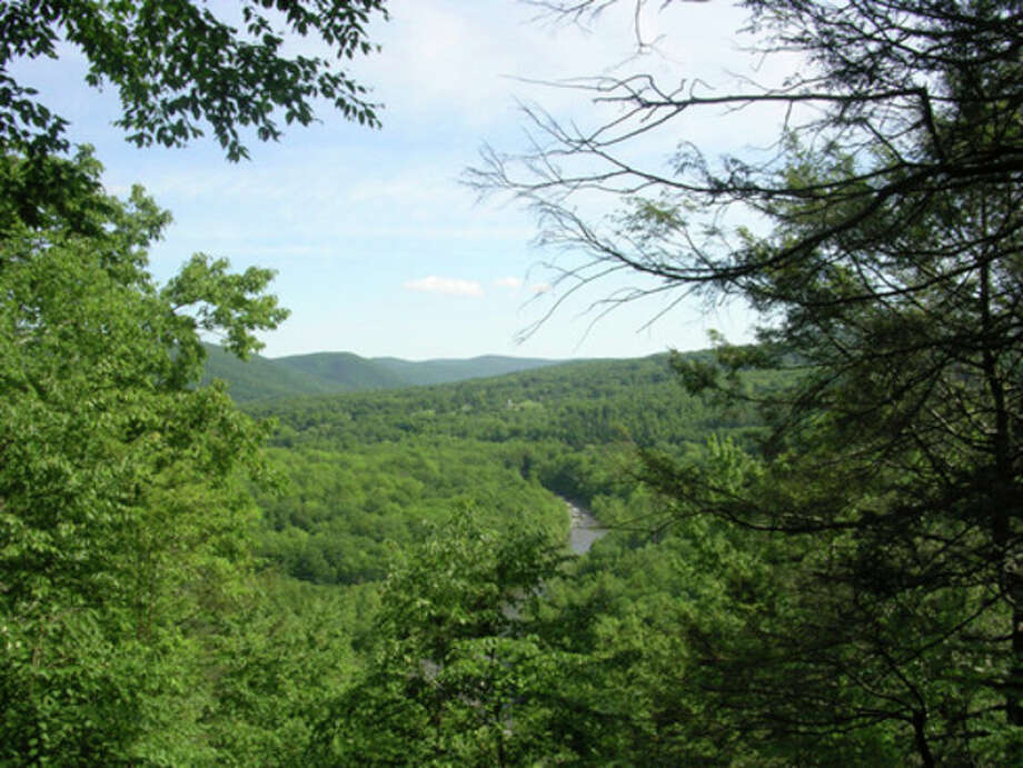 Photo by Rob McWilliams, McWilliams takes a hike.View from Housatonic Overlook, Herrick Trail