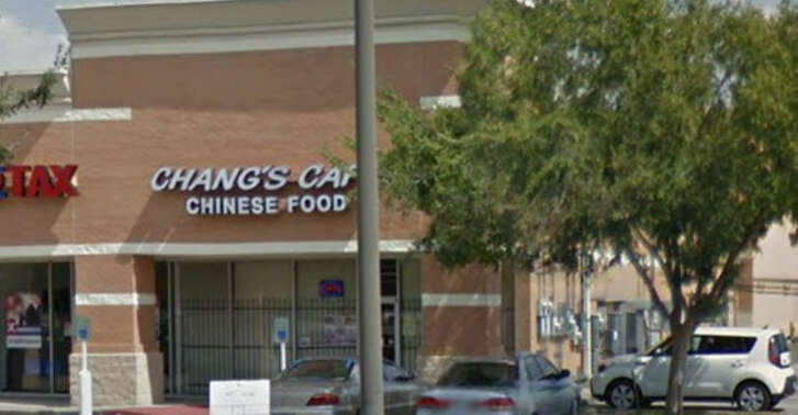 Chang's Cafe    Address: 9645 Fondren, Houston, Texas 77096    Demerits: 62   Inspection highlights: Failure to provide hot water; food services were temporarily ceased. Potentially hazardous food (chicken, rice and beef) stored at an improper temperature.