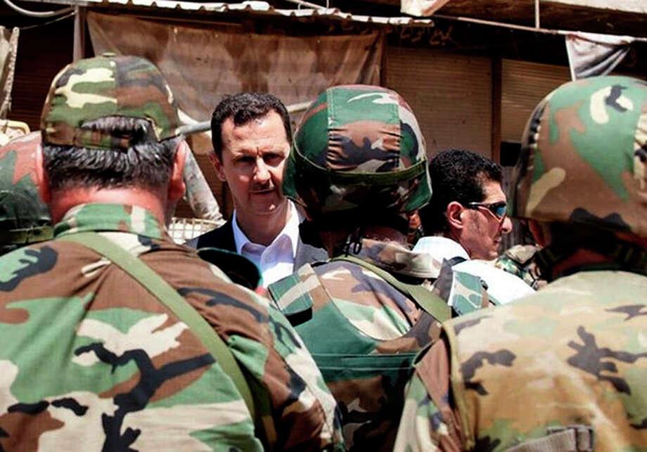 / Syrian Presidency via Facebook