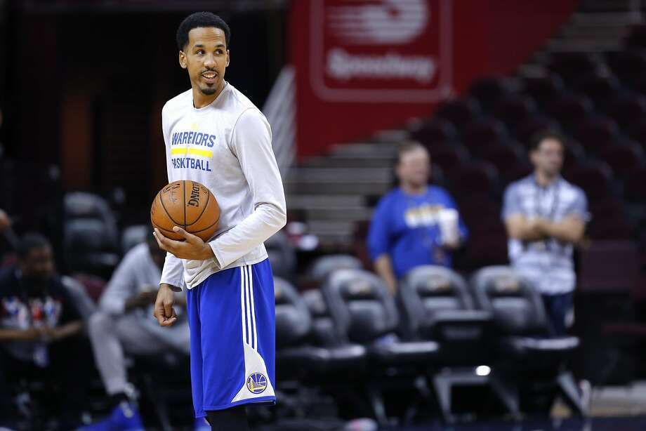Shaun Livingston, of the Golden State Warriors during a practice session at Quicken Loans Arena in Cleveland, Ohio  on Wed. June 15, 2016, as the team prepares to take on the Cleveland Cavaliers in game 6 of the NBA Championship at Quicken Loans Arena in Cleveland, Ohio  on Wed. June 15, 2016. Photo: Michael Macor, The Chronicle