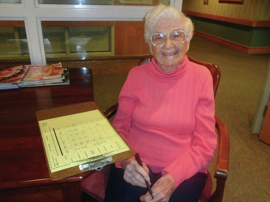 Contributed photoA Norwalk resident for 50 years, Fortunata Annunziato, 101, has always believed that every vote counts. Now at Wilton Meadows Rehabilitation and Health Care Center, Fortunata received her ballot and proudly cast her vote for president.Married to Louis Annunziato for 72 years, they built their own Norwalk apartment. She chose Wilton Meadows for rehabilitation after a hip injury and decided that's where she wanted to stay. Her niece, Gail Cioffi, lives in Wilton and said her aunt considers voting a privilege and duty.Contributed photo