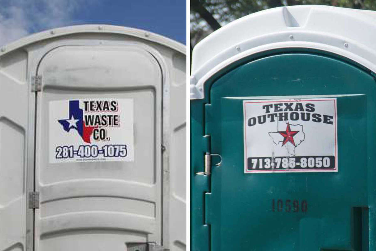 Texas Outhouse v. Texas Waste Does it really matter where you go? Yes, according to Texas Outhouse which sued rival Texas Waste for adopting similar looking Texas symbols on its line of al fresco powder rooms and thereby, confusing the portable toilet-seeking public. Texas Outhouse claims that its competitor's star and Texas outline on the door of the portable loos will likely dilute the