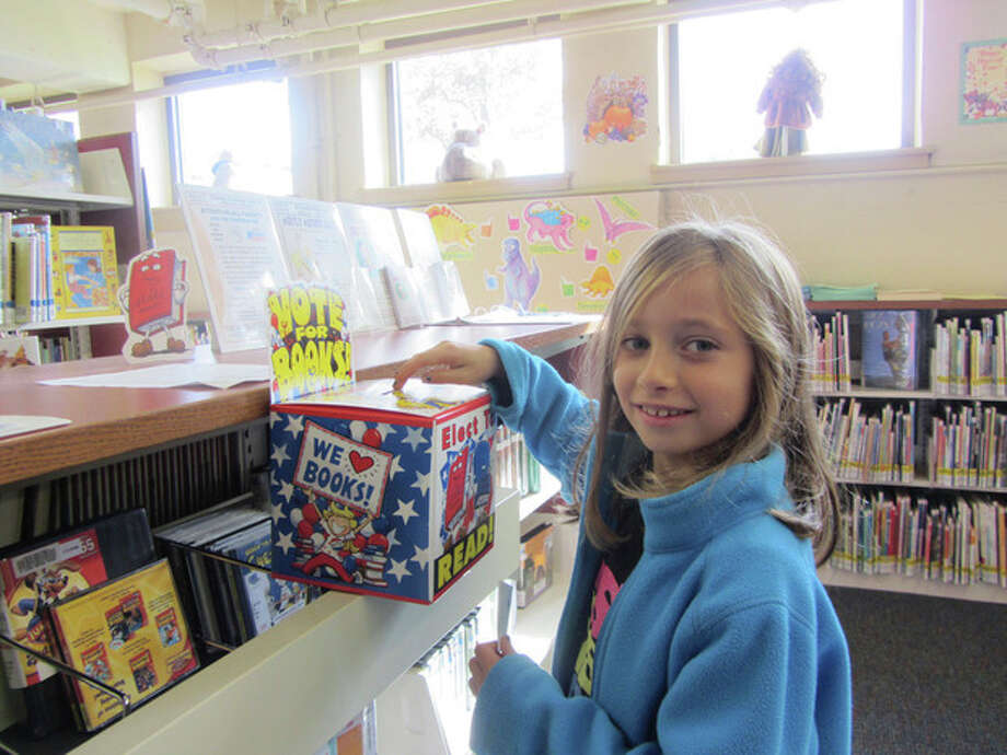 Brynne Korzenik, Brookside Elementary School second-grade student