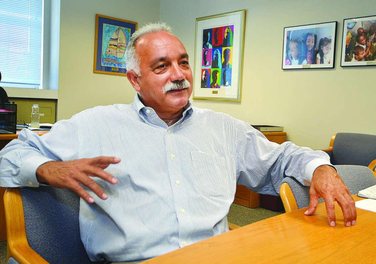 Norwalk Superintendent of Schools Manuel Rivera.
