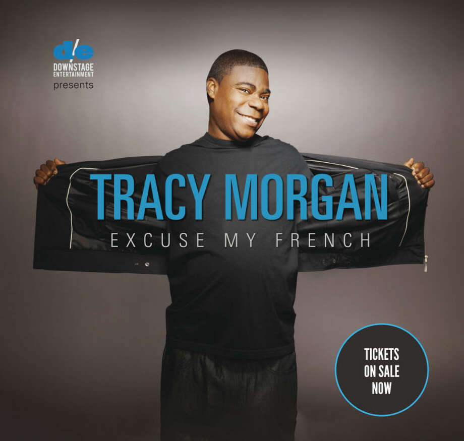 Actor and comedian Tracy Morgan will perform at the Palace Theatre on Thursday, Sept. 26.