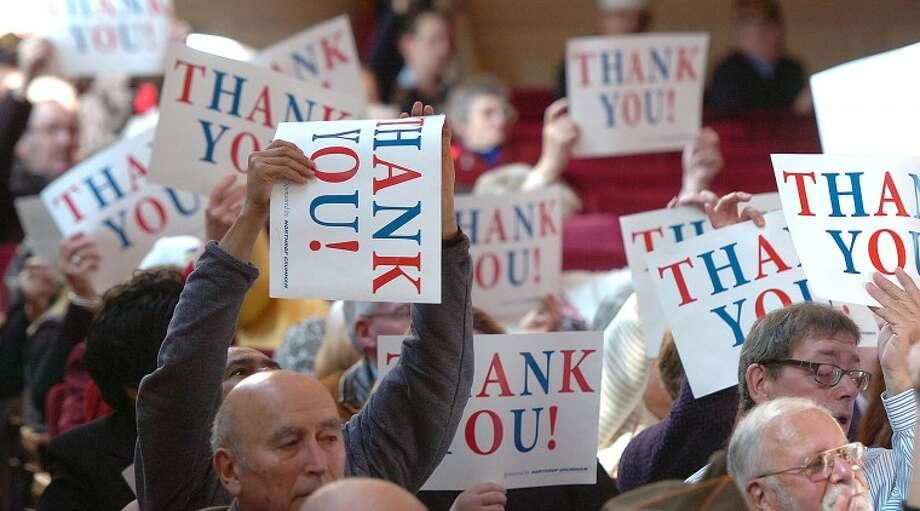 Hour Photo Alex von Kleydorff; Veterans day at Norwalk City Hall.