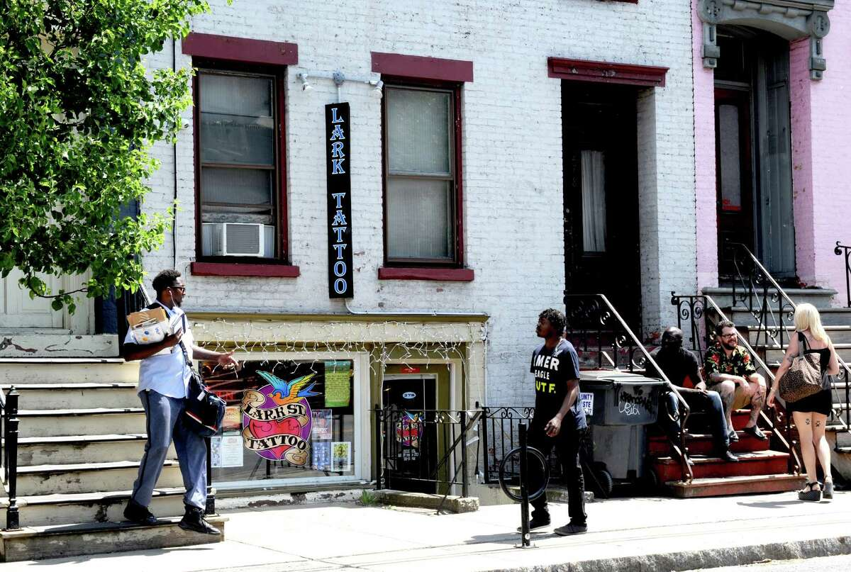 Lark Street Tattoo at 278 Lark Street in Albany.