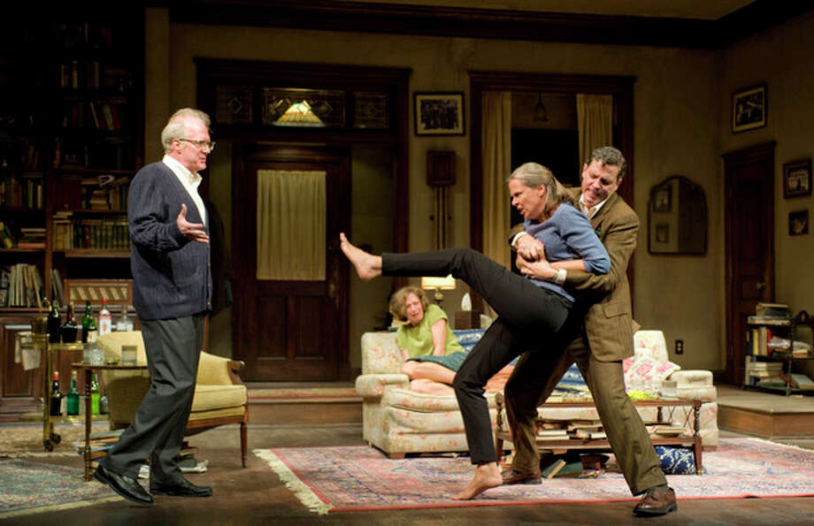 "Contributed photoA production photo from ""Who's Afraid of Virginia Woolf?"" now playing in New York. / Michael_Brosilow"