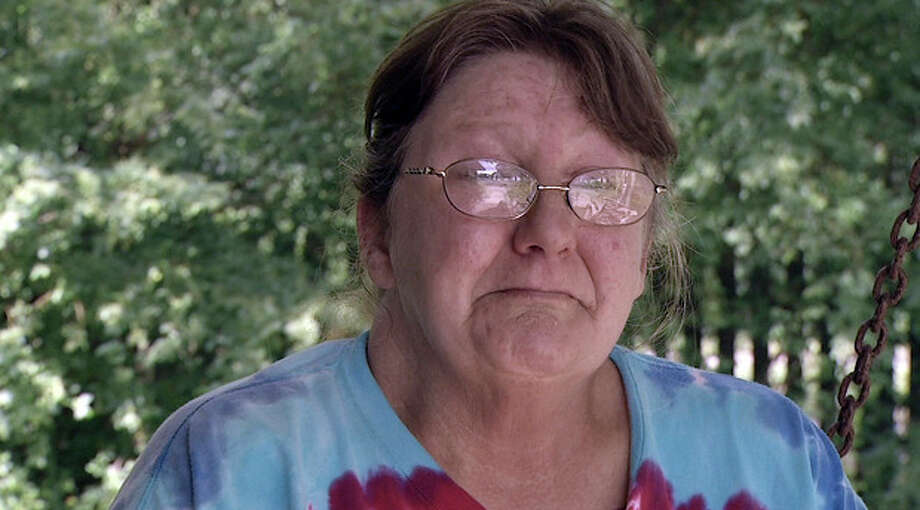 In this image made from video, Connie Homer, the mother of Ronald Lee Homer Jr., speaks to a reporter, in Conyers, Ga. Ronald Lee Homer Jr., fell to his death during an Atlanta Braves game at the team's stadium. He fell 65 feet on Monday night from a fourth-level smoking area into a parking lot for Braves players. Homer, a lifelong Braves fan, had told his mother in a phone call shortly before the accident that he was preparing to head to his seat after a rain delay. (AP Photo/Johnny Clark) / AP