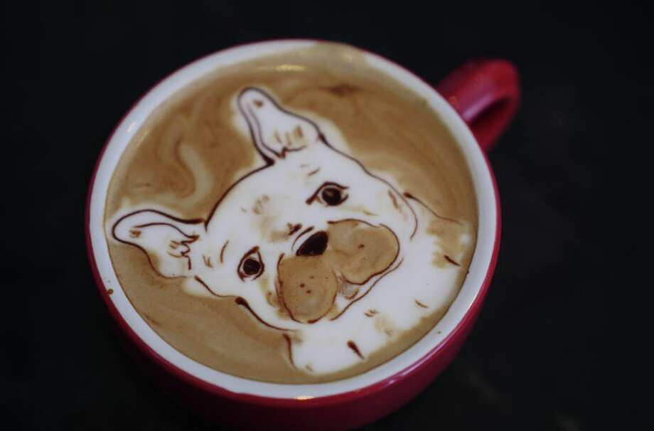 This barista may be the best coffee artist in San Francisco, even the world