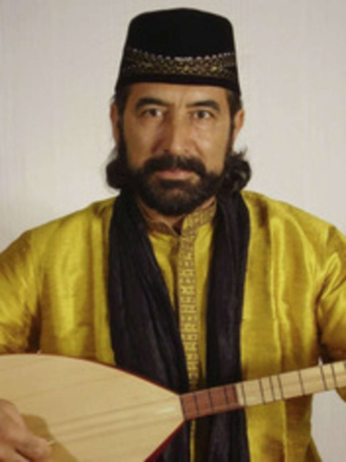 Contributed photo Latif Bolat, a Turkish singer, composer and scholar of Turkish music and folklore who is considered one of the most renowned Turkish musicians in North America performs at 2 p.m. on Saturday, Nov. 17, in a program that should appeal to all ages.