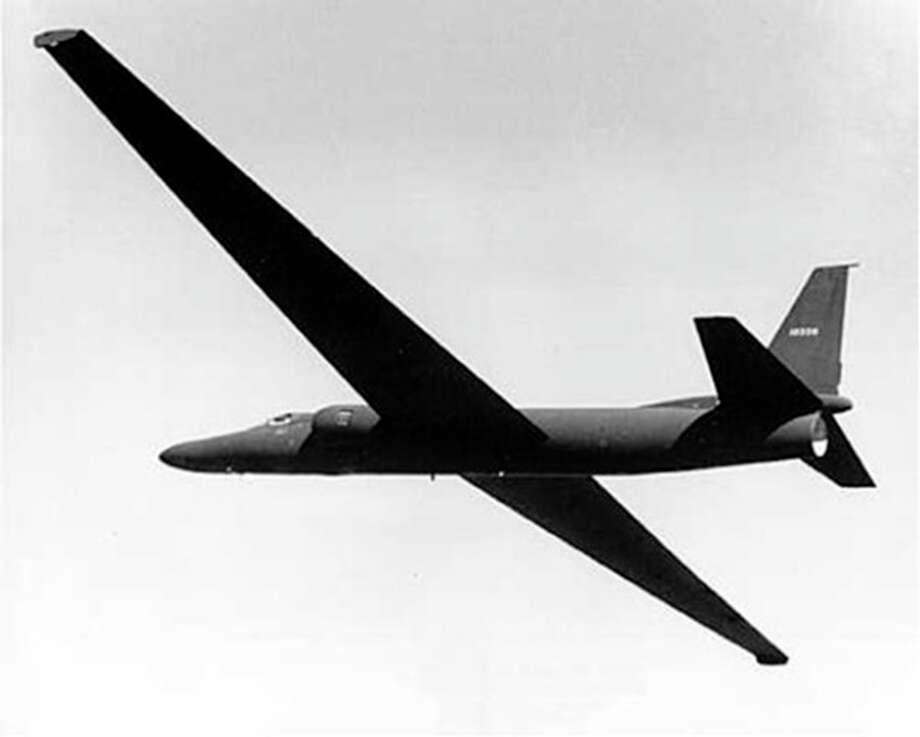 AP Photo/CIAIn an Aug. 4, 1955 photo provided by the CIA, the prototype U-2 spy plane is tested at what became known at Area 51 in Nevada. The CIA is acknowledging in the clearest terms yet the existence of Area 51, the top-secret Cold War test site that has been the subject of conspiracy theories for decades. / CIA