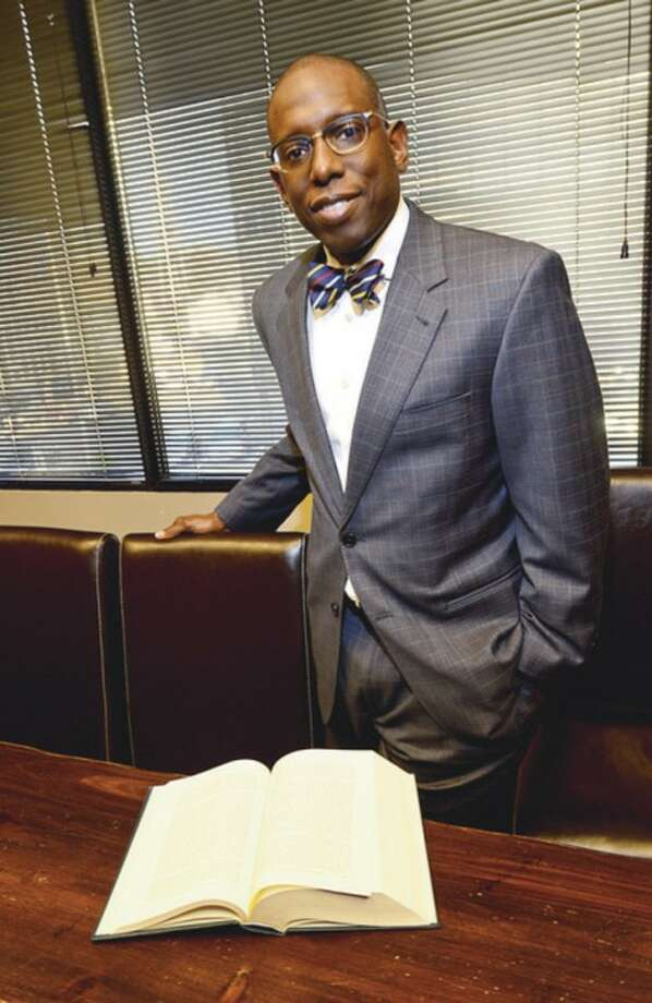 Hour photo / Erik TrautmannDarnell Crosland has been elected NAACP president.
