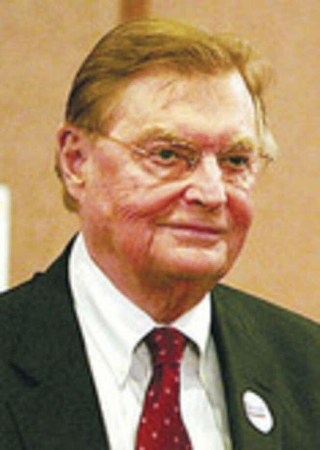 Walter Briggs the Democratic nominee for Mayor of Norwalk.Hour photo / BEN GANCSOS