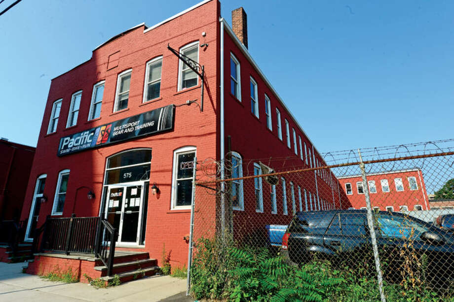 Loft Artists Association has found a new home on the second floor of 575 Pacific Street. Hour photo / Erik Trautmann