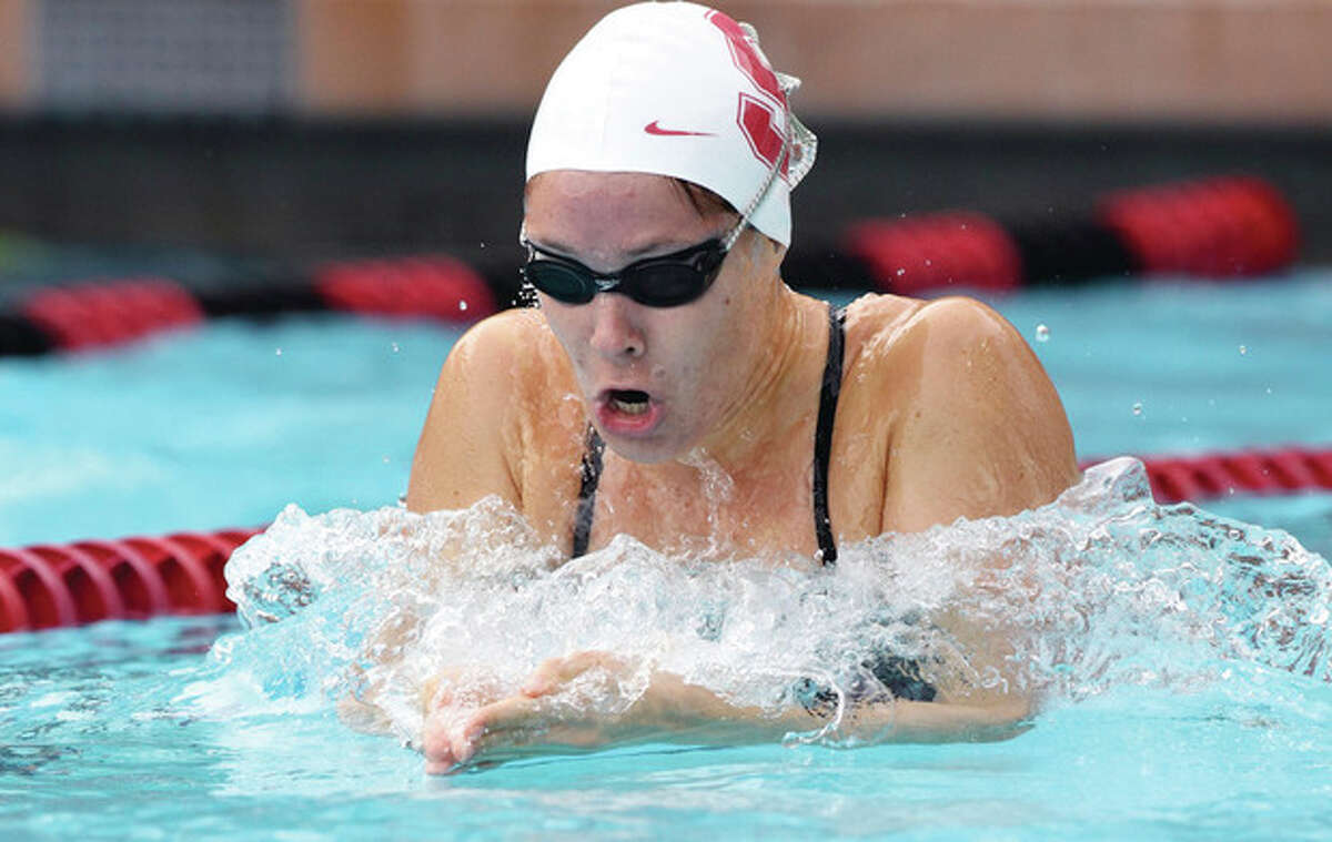 Stanford, CA; Friday November 2, 2012: Swimming, Stanford vs Wisconsin.