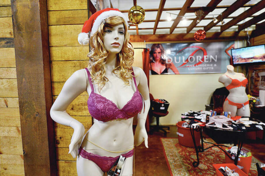 Lingerie from Duloren on display SoNo Market. / (C)2012, The Hour Newspapers, all rights reserved