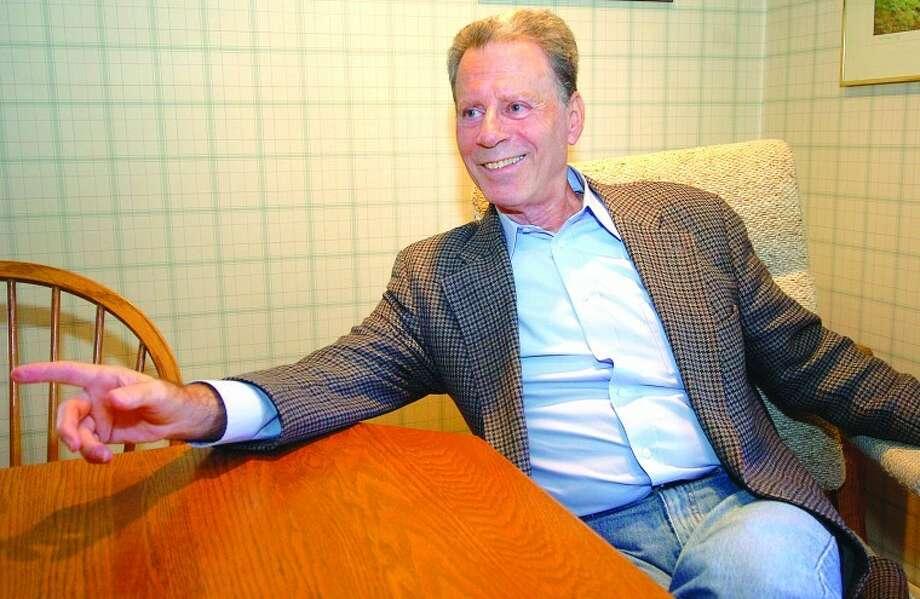 Hour Photo Alex von Kleydorff; Psychiatrist and author Mark Rubenstein M.D. in his Wilton office