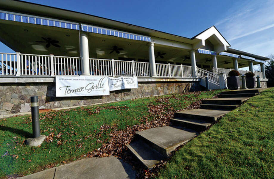 The Terrace Grille at Oak Hills has closed its door except for special events and will close entirely Dec. 31. The operator, RM Staffing, is tied toa Rye Golf Club manager who is under investigation. Hour photo / Erik Trautmann / (C)2012, The Hour Newspapers, all rights reserved