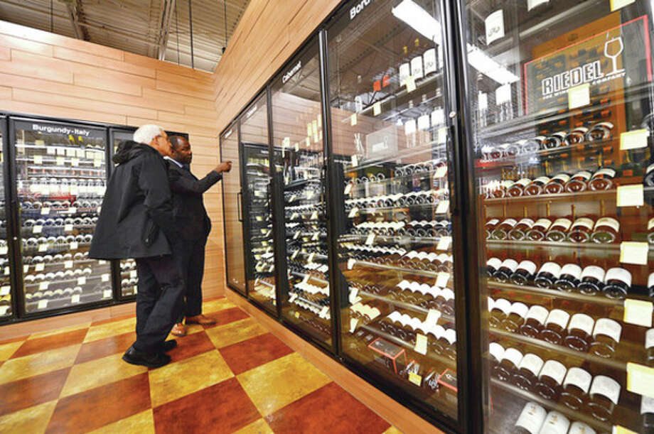 The grand opening of Total Wine on Main Ave in Norwalk Thursday afternoon. / ©2012 The Hour Newspapers