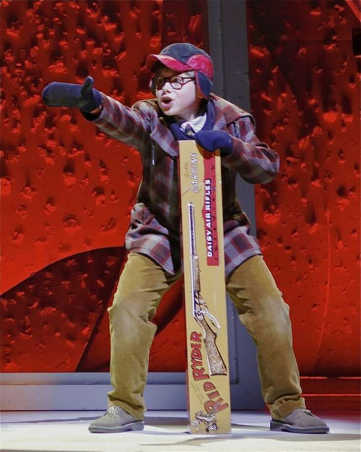 "Contributed photoJohnny Rabe as Ralphie in ""A Christmas Story, The Musical."""