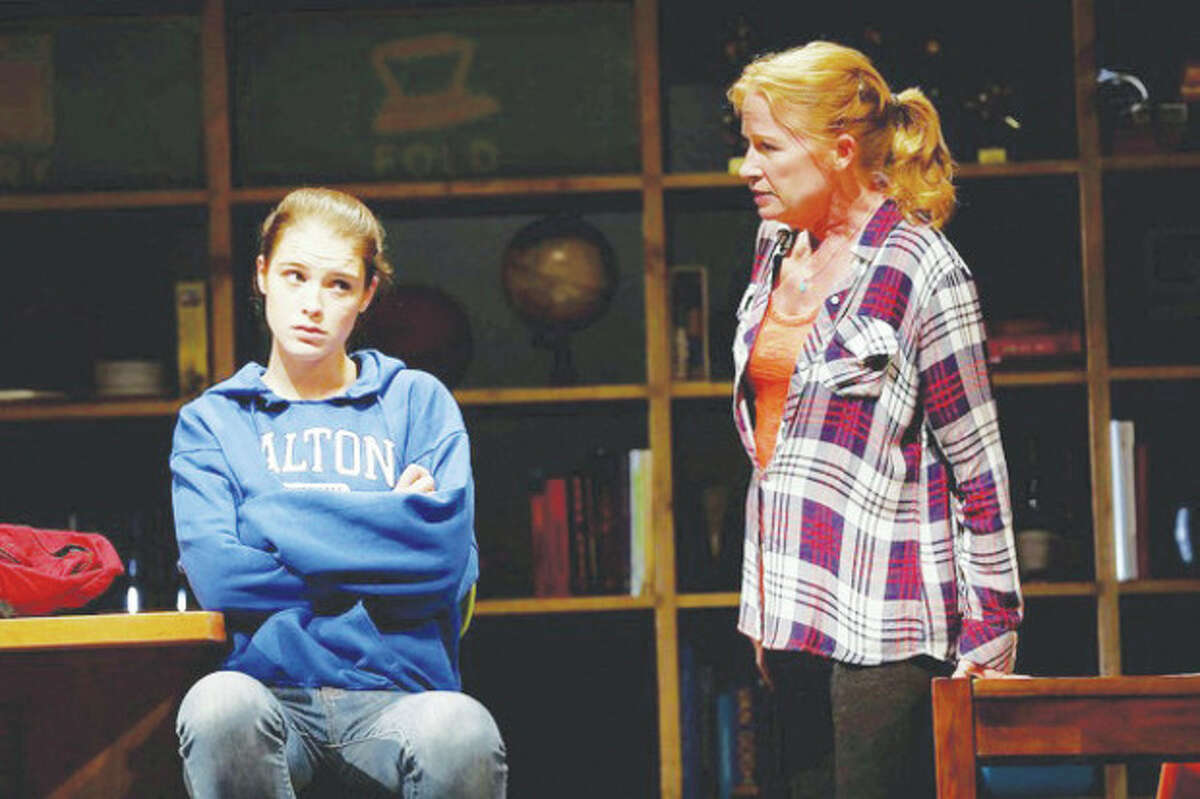 Katie Broad and Johanna Day are featured in the world premiere of the comedy