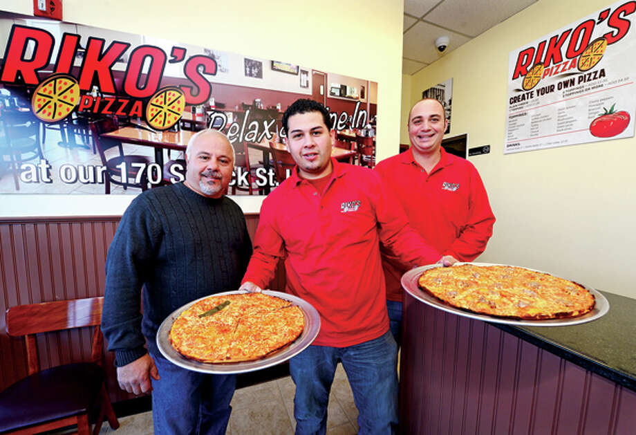 Riko's Pizza / (C)2012, The Hour Newspapers, all rights reserved