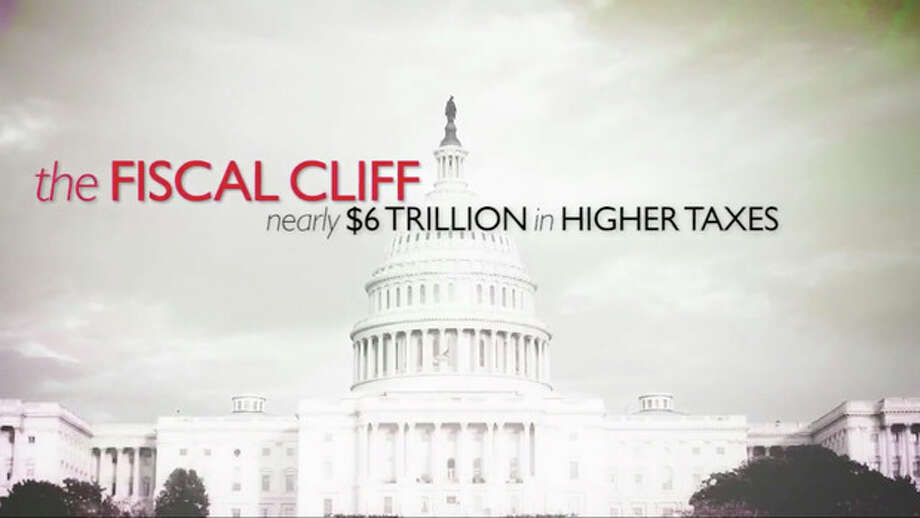 "This still image from video released by the Business Roundtable, show their online video on the ""fiscal cliff."" Picking up where the wall-to-wall election ads left off, debate over the ""fiscal cliff"" has money pouring into television, print, radio and online advertising. As Republicans and the White House joust over big tax increases and spending cuts, outside groups on both sides weigh in with major campaigns aimed at politicians and voters alike (AP Photo/Business Roundtable) / Business Roundtable"