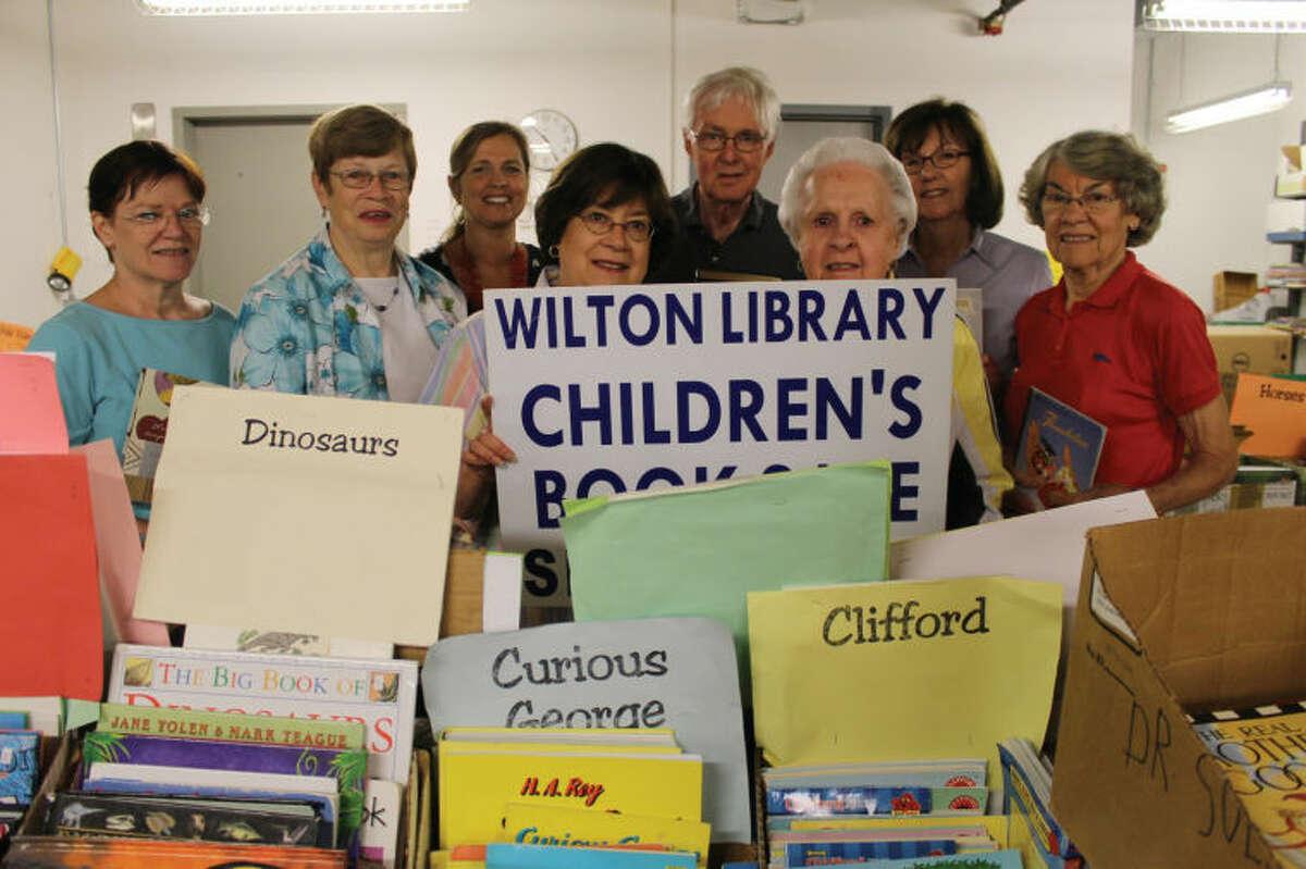 Wilton Library book sale