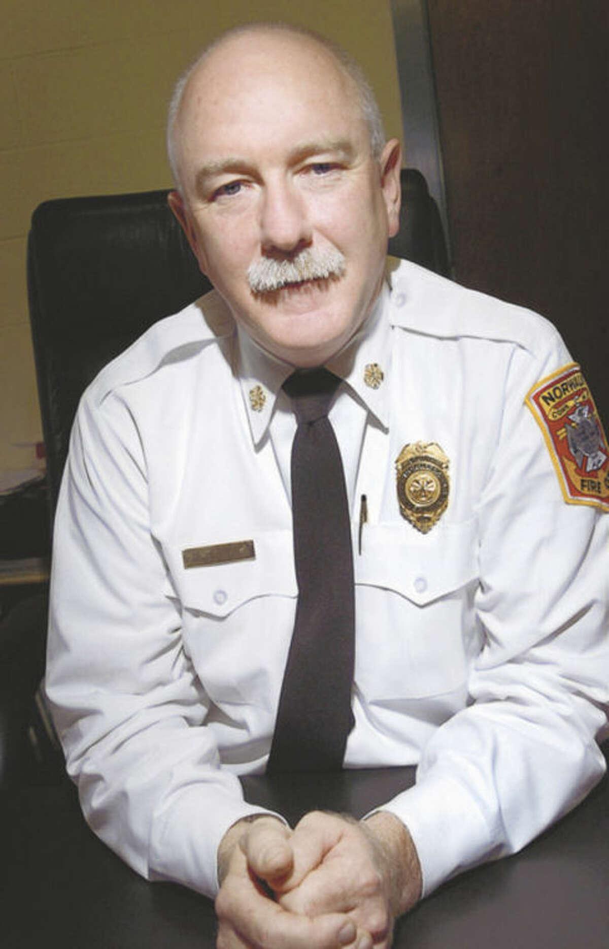 Norwalk Fire Chief Dennis McCarthy.