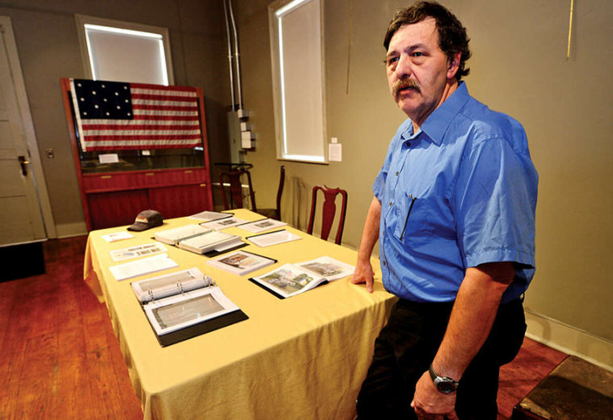 Ed Eckert can trace his lineage back to Richard Olmstead who help found Norwalk back in 1651.