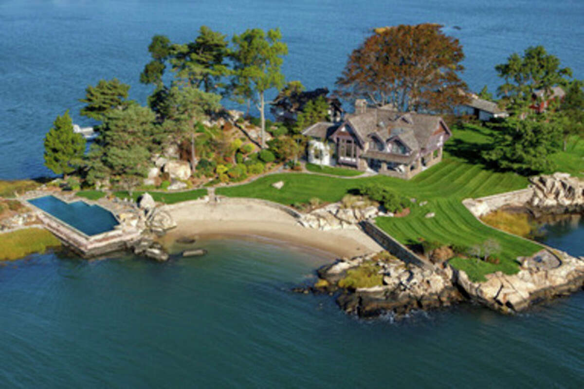 Contributed photo Norwalk's Tavern Island is on the market for $10.9 million.