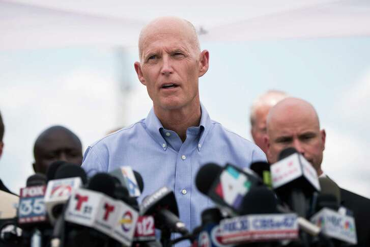 Florida Gov. Rick Scott speaks during a press conference updating the media on the investigation into the shooting at Pulse Nightclub. The shooting at Pulse Nightclub, which killed 49 people and injured 53, is the worst mass-shooting event in modern American history. (Photo by Drew Angerer/Getty Images)