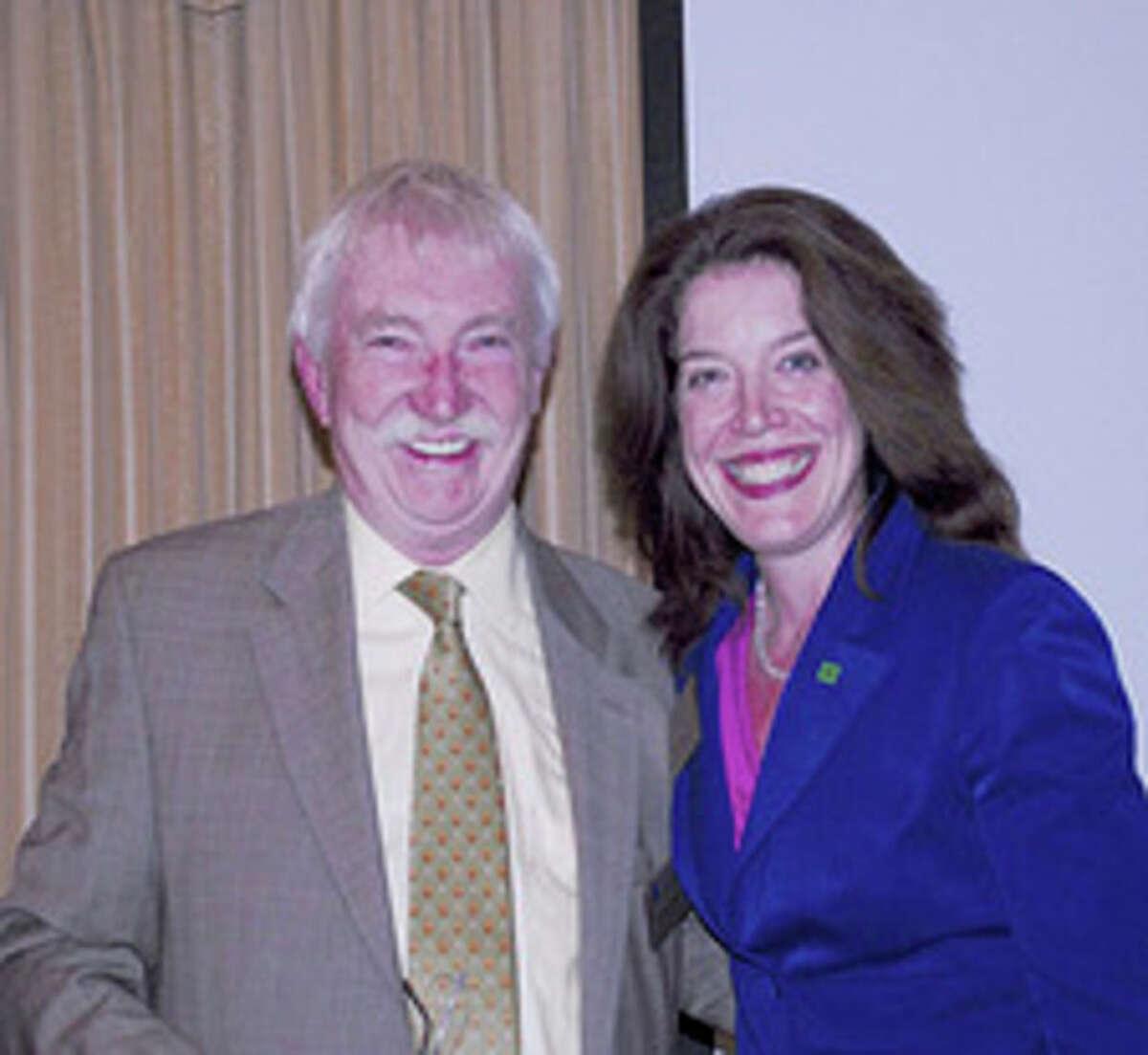 Contributed photo HBRA Life Director John Murren, and President Elect Maureen Hanley- Bellitto