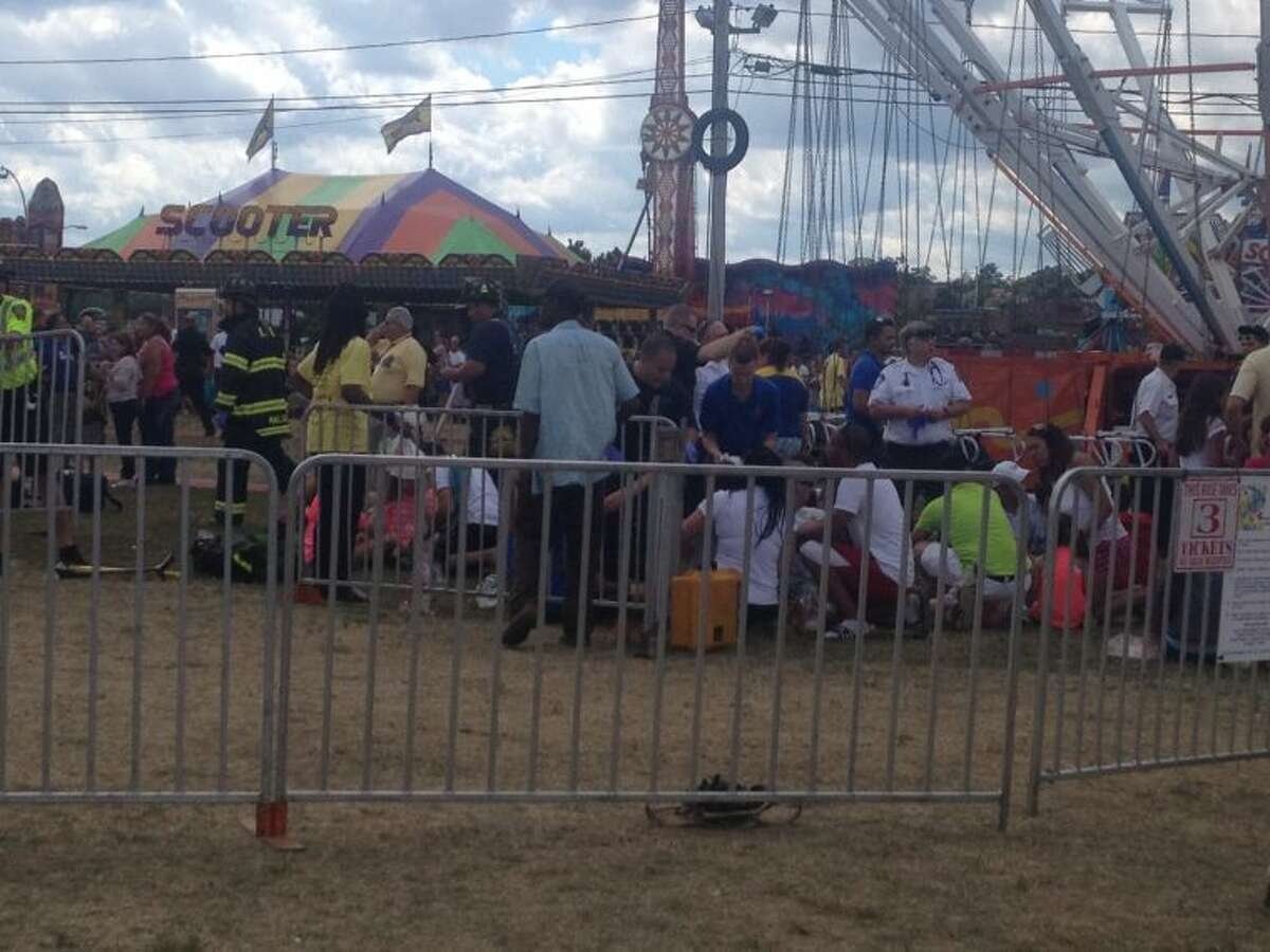 Oyster Festival Ride Collapses
