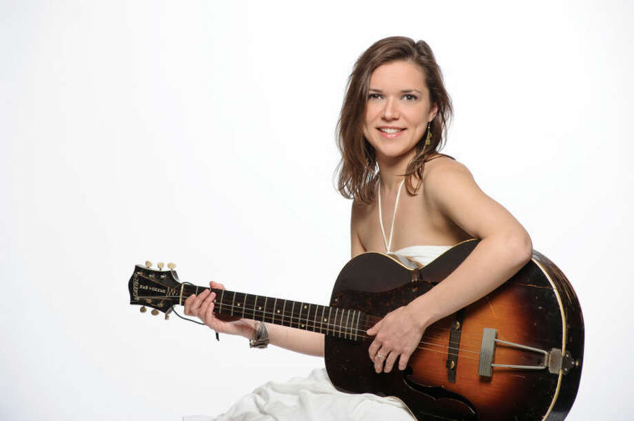 """Norwalk singer/songwriter Karen Zimmer will perform in the Palace Theatre's Upper Lobby on Friday, Sept. 27 for the launch of """"Showcase 61,"""" a new series featuring artists from in and around Fairfield County."""