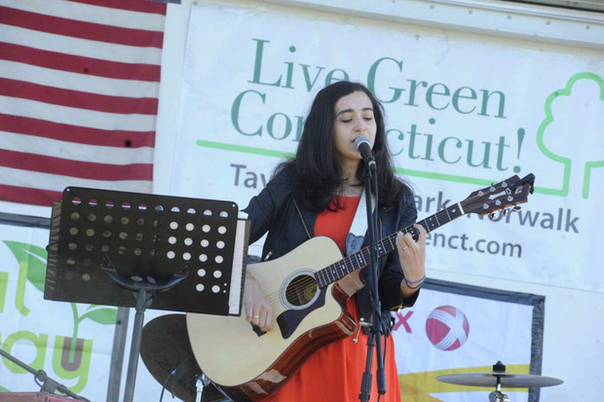 Sarah McGowan performs at the Live Green Connecticut! festival at Taylor Farm in this September 2012 file photo.