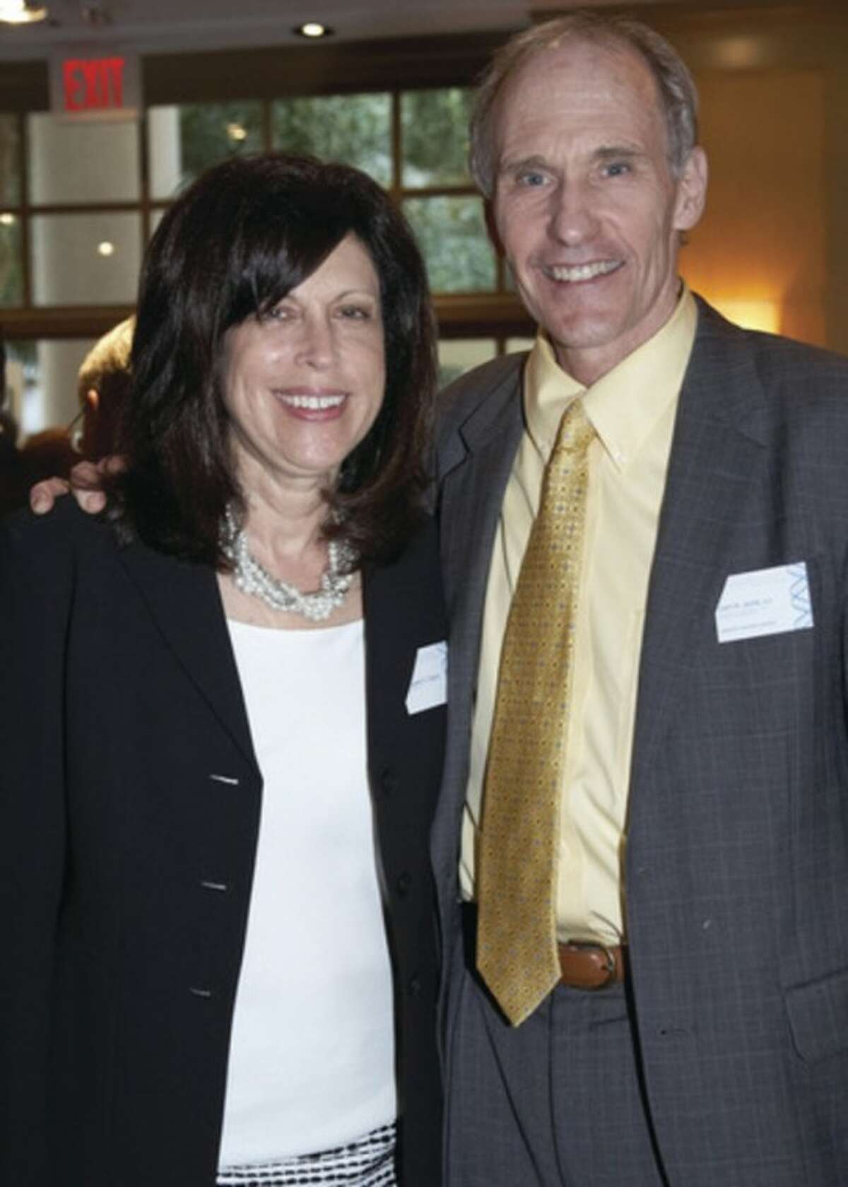 From left to right, Margaret Cianci, ACGT executive director, and Dr. June.